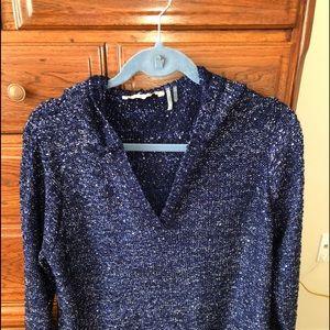 Soft Surroundings Navy Sweater